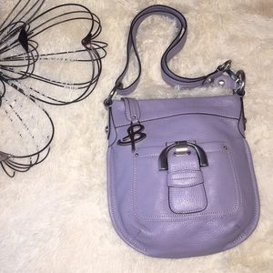 B Makowsky Westbourne Crossbody Leather Bag Purse